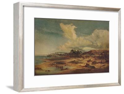 Coast Scene with Church, c1824-John Constable-Framed Giclee Print