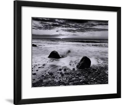 Coast Sunrise-Richard Nowicki-Framed Art Print