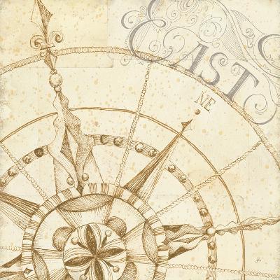 Coast to Coast Sepia III-Daphne Brissonnet-Premium Giclee Print