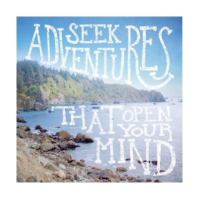 Coastal Adventures III-Laura Marshall-Art Print
