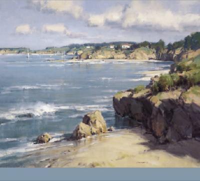 Coastal Afternoon-Scott Christensen-Art Print