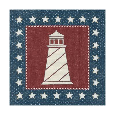 Coastal Americana II-David Carter-Art Print