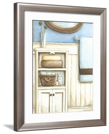 Coastal Bath III-Megan Meagher-Framed Art Print