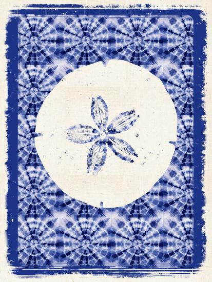 Coastal Batik 1-Lola Bryant-Art Print