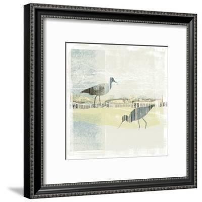 Coastal Birds I-Ken Hurd-Framed Art Print