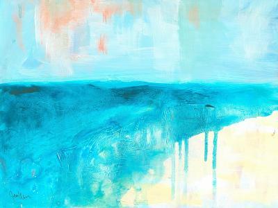 Coastal Blues 2-Jan Weiss-Art Print