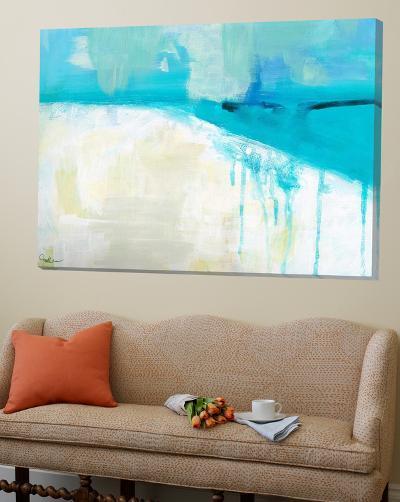 Coastal Blues I-Jan Weiss-Loft Art