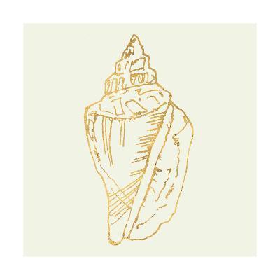 Coastal Breeze Shell Sketches III-Anne Tavoletti-Art Print