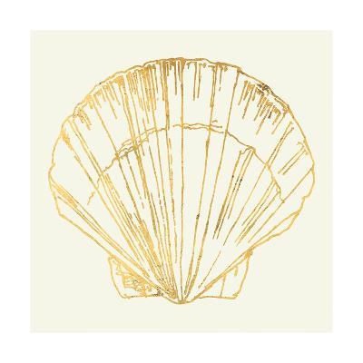 Coastal Breeze Shell Sketches V-Anne Tavoletti-Art Print