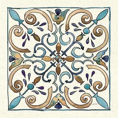 Coastal Breeze Tile I-Anne Tavoletti-Art Print