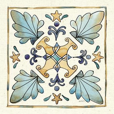 Coastal Breeze Tile III-Anne Tavoletti-Art Print