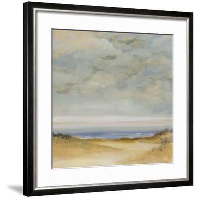 Coastal Calm-Karen Dupré-Framed Art Print