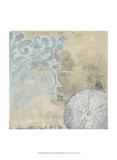 Coastal Cameo I-June Erica Vess-Art Print
