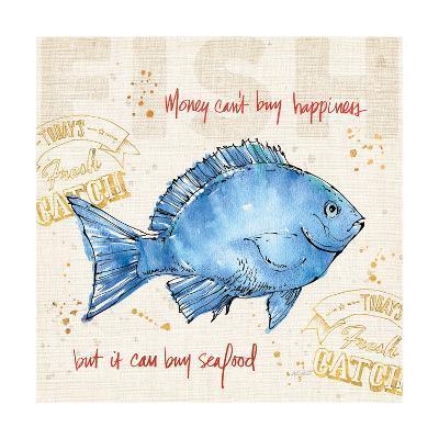 Coastal Catch III-Anne Tavoletti-Art Print