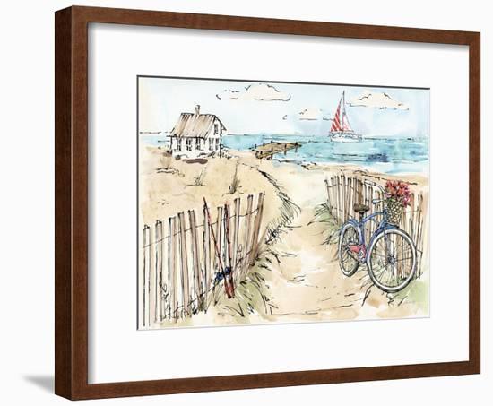 Coastal Catch V-Anne Tavoletti-Framed Art Print