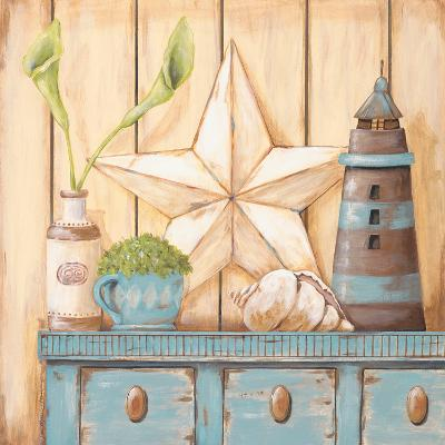 Coastal Cupboard I-Jo Moulton-Art Print
