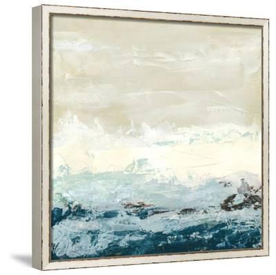 Coastal Currents I-Erica J^ Vess-Framed Canvas Print