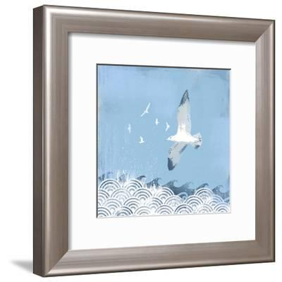 Coastal Days II-Ken Hurd-Framed Art Print