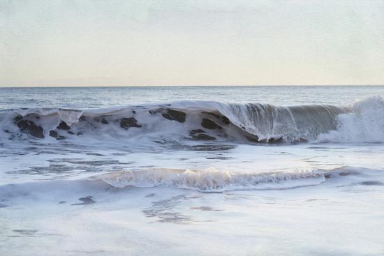 Coastal Evening III-Elizabeth Urquhart-Art Print