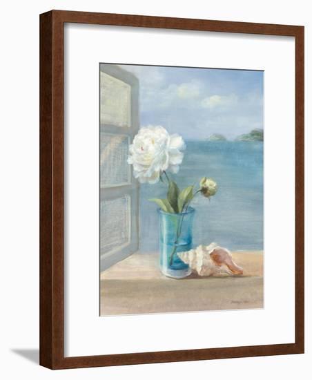 Coastal Florals I-Danhui Nai-Framed Art Print