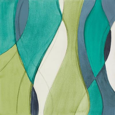 Coastal Greens Coalescence II-Lanie Loreth-Premium Giclee Print