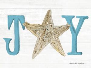 Coastal Holiday Ornament X Joy