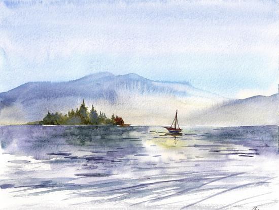 Coastal I-Irina Trzaskos Studio-Giclee Print