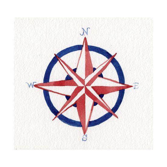 Coastal Icon II-Kathleen Parr McKenna-Art Print