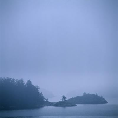 Coastal Islands in Fog-Micha Pawlitzki-Photographic Print