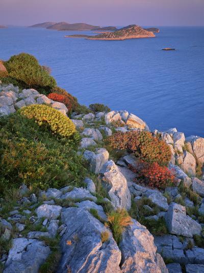 Coastal Landscape, Kornati National Park, Mana Island, Croatia, May 2009 Wwe Book-Popp-Hackner-Photographic Print