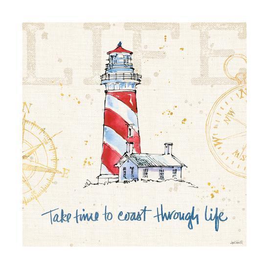 Coastal Life VI-Anne Tavoletti-Art Print