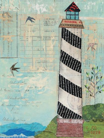 Coastal Lighthouse II-Courtney Prahl-Art Print