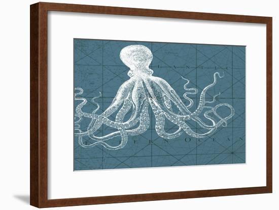 Coastal Menagerie VII-Vision Studio-Framed Art Print