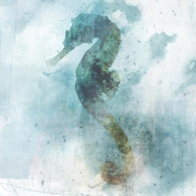 Coastal Mist Seahorse-Ken Roko-Art Print