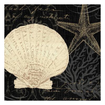 Coastal Moonlight II-Pela Design-Premium Giclee Print