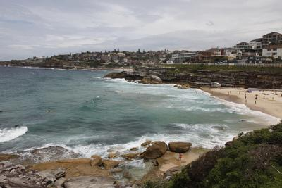 Coastal Path from Bondi Beach to Bronte and Congee, Sydney, New South Wales, Australia, Pacific-Julio Etchart-Photographic Print
