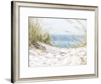 Coastal Photograpy Textured-Melody Hogan-Framed Art Print