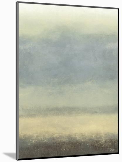 Coastal Rain I-Norman Wyatt Jr^-Mounted Art Print