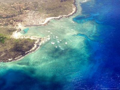 Coastal Reefs Off of the Western Comoros Islands-Michael Fay-Photographic Print