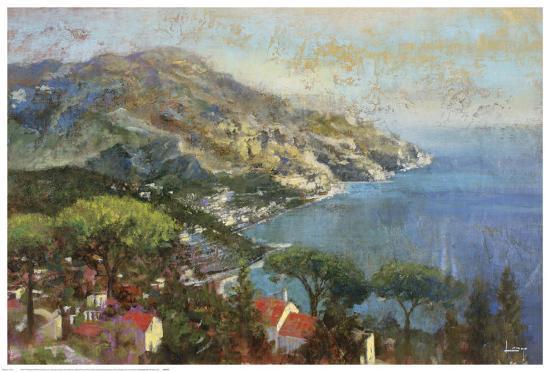 Coastal Reflection-Michael Longo-Art Print