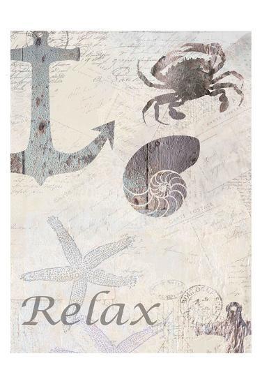 Coastal Relax-Kimberly Allen-Art Print