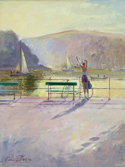 Coastal Rider-Timothy Easton-Giclee Print