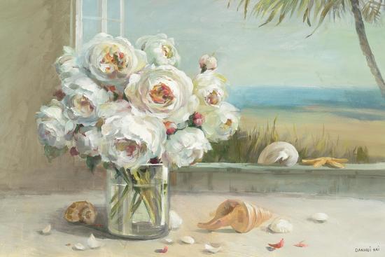 Coastal Roses v.2-Danhui Nai-Premium Giclee Print
