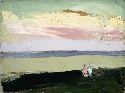 Coastal Scene at Sunset-Robert Henri-Giclee Print
