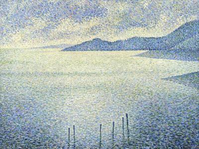 Coastal Scene, C. 1892-1893-Th?o van Rysselberghe-Giclee Print