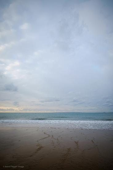 Coastal Scenery in England-David Baker-Photographic Print
