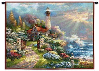Coastal Splendor-James Lee-Wall Tapestry