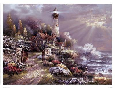 Coastal Splendor-James Lee-Art Print