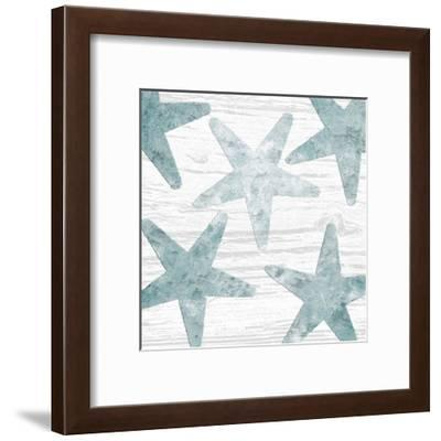 Coastal Star Cemented 1-Sheldon Lewis-Framed Art Print