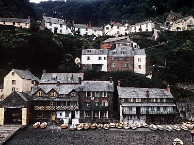 Coastal Town of Clovelly on Coast of North Devon West of Bideford--Photographic Print